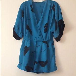 Vintage Kimono Romper